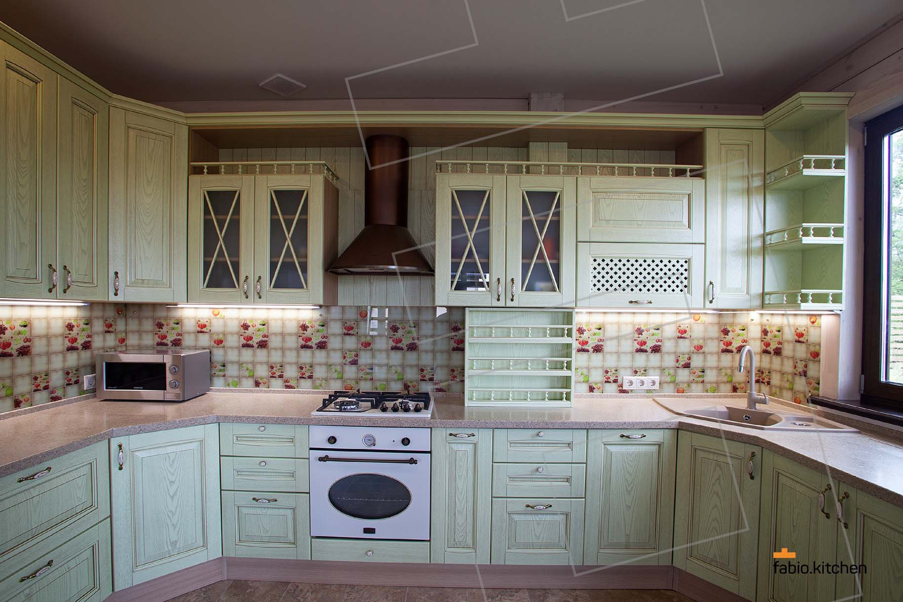 Fabio.Kitchen - Проект Кухни №1841 Фото 1